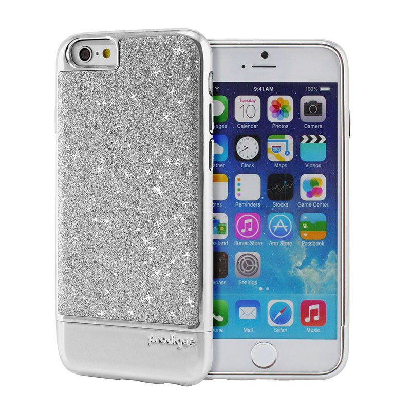 Pouzdro / kryt pro Apple iPhone 6 / 6S - Prodigee, Sparkle Silver