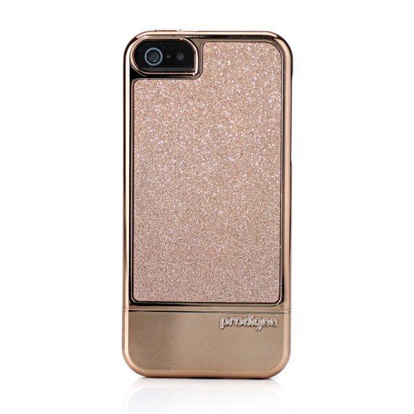 Pouzdro / kryt pro Apple iPhone 5 / 5S / SE - Prodigee, Sparkle Fusion Rose Gold