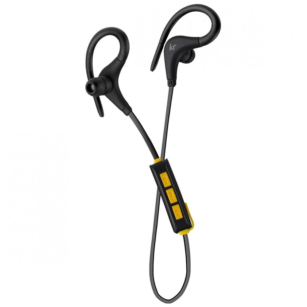 Sportovní bezdrátová sluchátka pro iPhone a iPad - KITSOUND, RACE Black