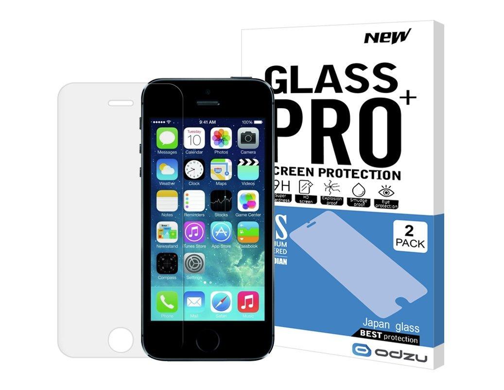 Ochranné tvrzené sklo na iPhone 5/5s/SE - Odzu, Glass 2ks