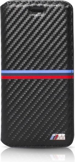 Pouzdro / kryt pro iPhone 7 - BMW, M-Carbon Book Black