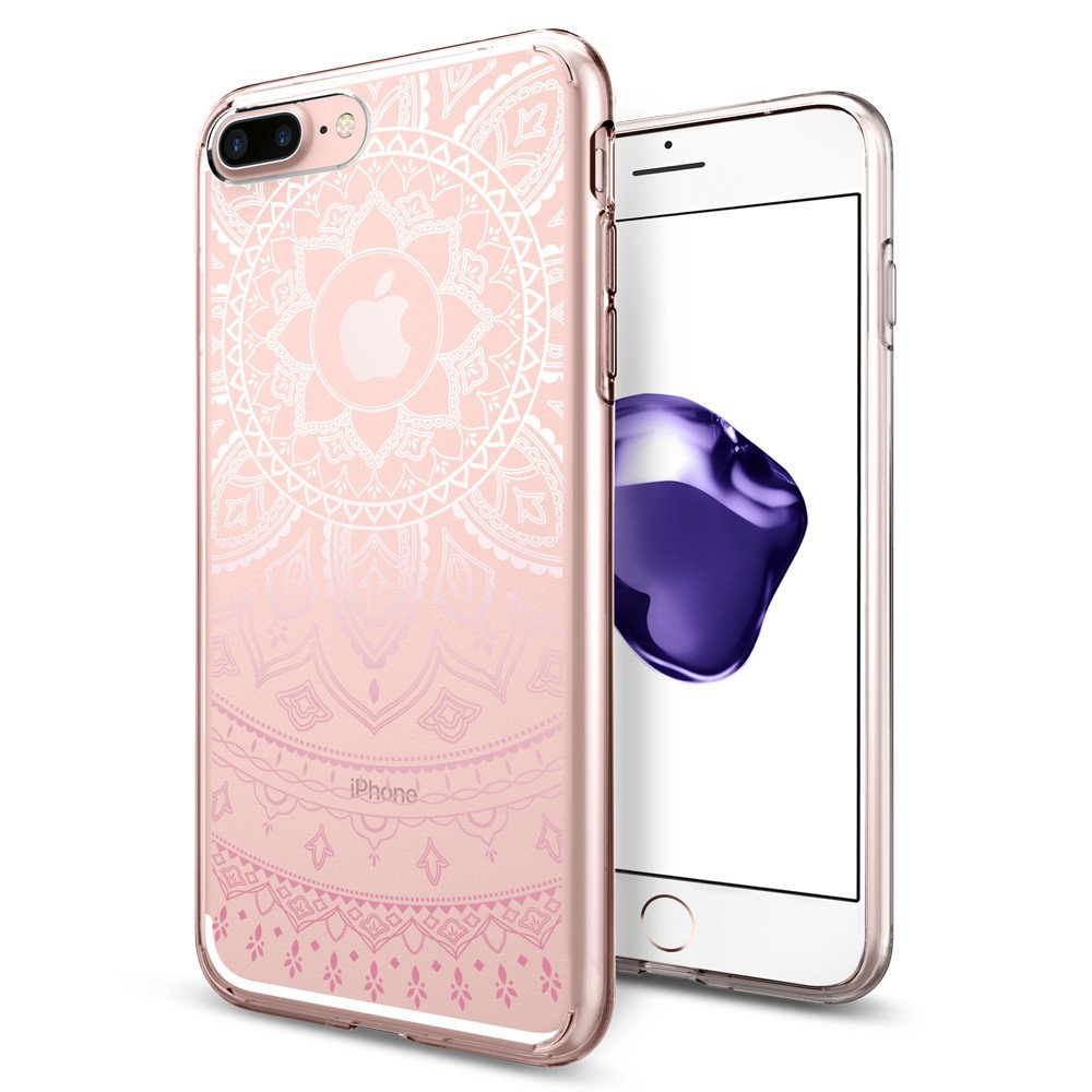 Pouzdro / kryt pro Apple iPhone 7 PLUS / 8 PLUS - Spigen, Liquid Crystal Shine Pink