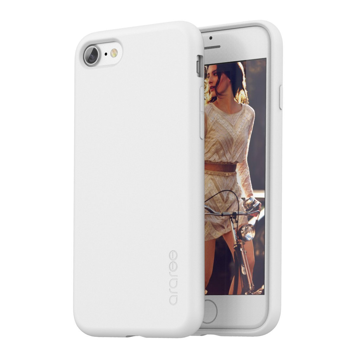 Pouzdro / kryt pro Apple iPhone 7 - Araree, Airfit White