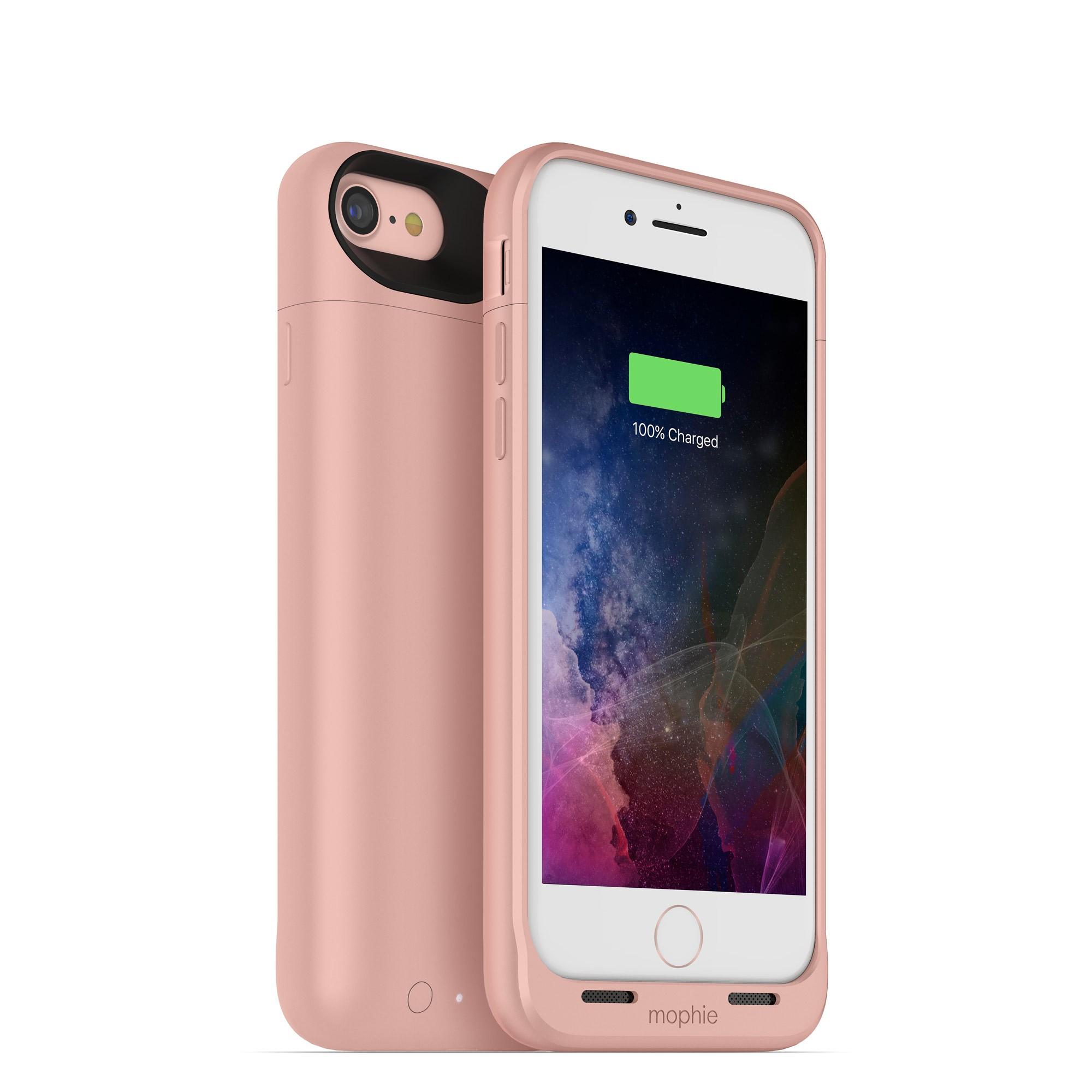 Nabíjecí pouzdro pro Apple iPhone 7 / 8 - Mophie, Juice Pack Air 2525mAh Rose Gold