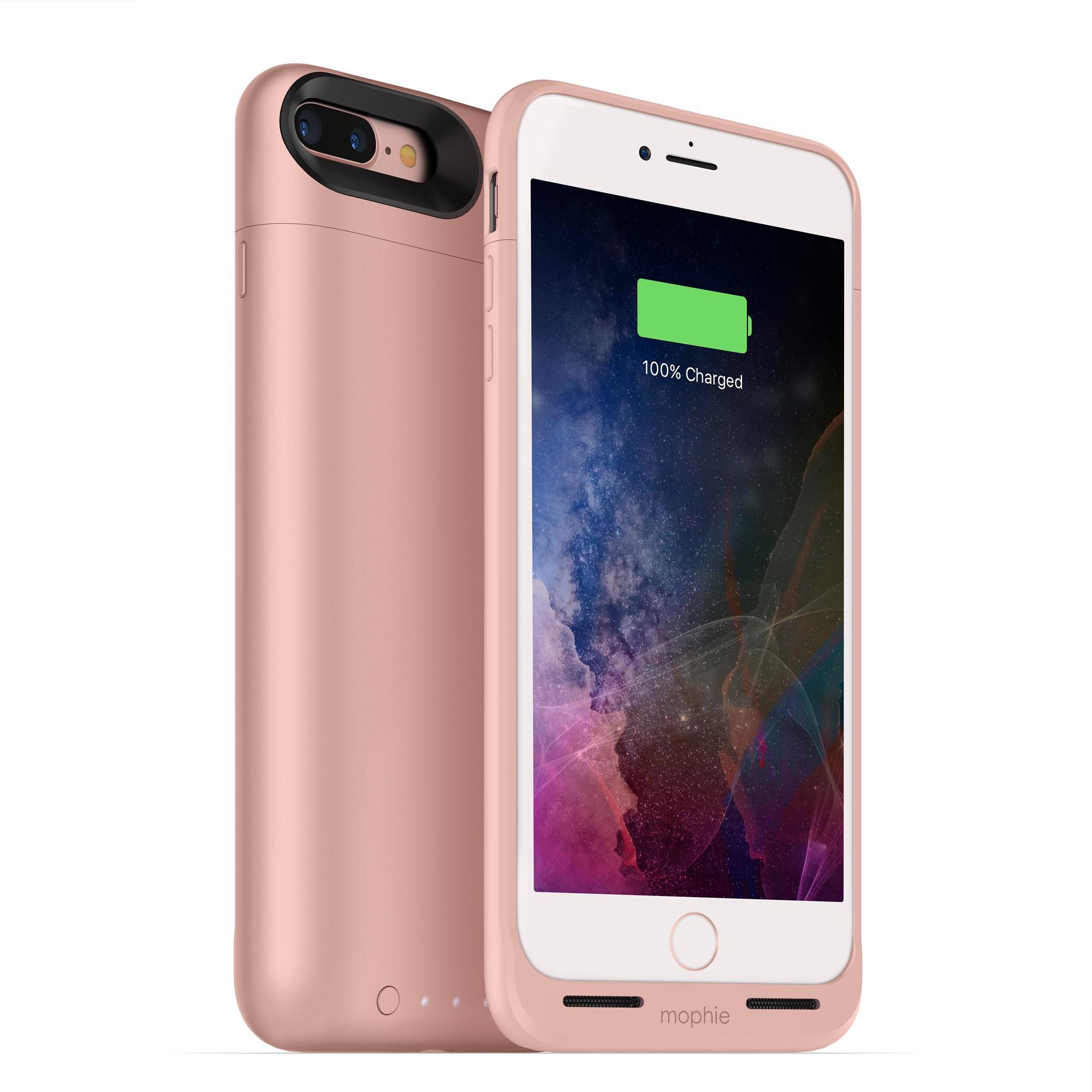 Nabíjecí pouzdro pro Apple iPhone 7 PLUS / 8 PLUS - Mophie, Juice Pack Air 2420mAh Rose Gold