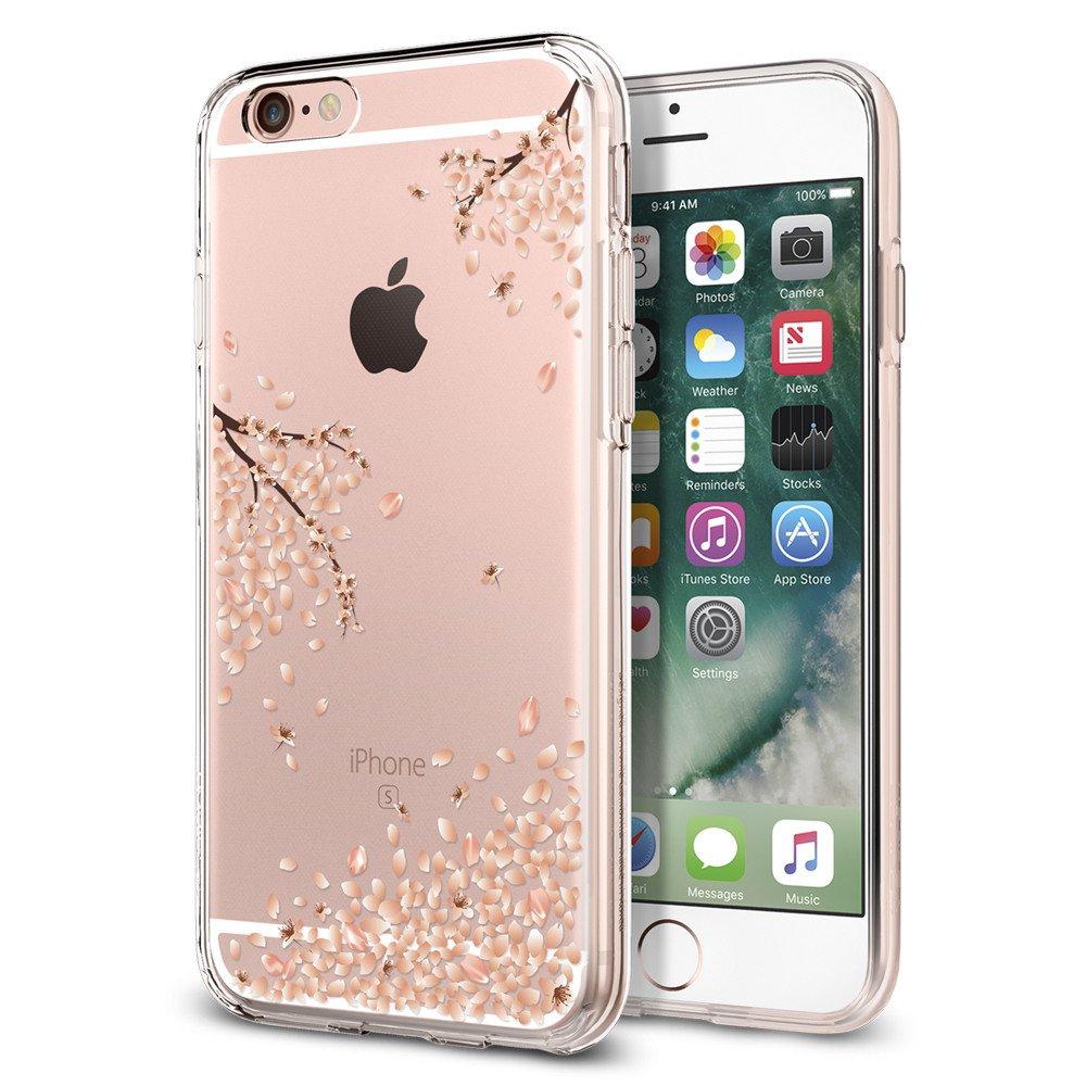 Pouzdro / kryt pro Apple iPhone 6 / 6S - Spigen, Liquid Shine Blossom