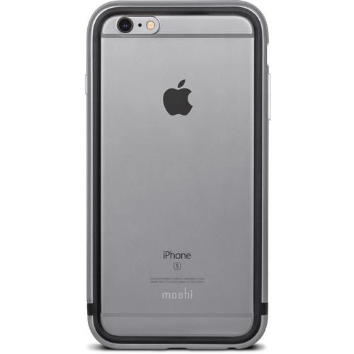 Pouzdro / kryt pro Apple iPhone 6 / 6S - Moshi, iGlaze Luxe Titanium Grey