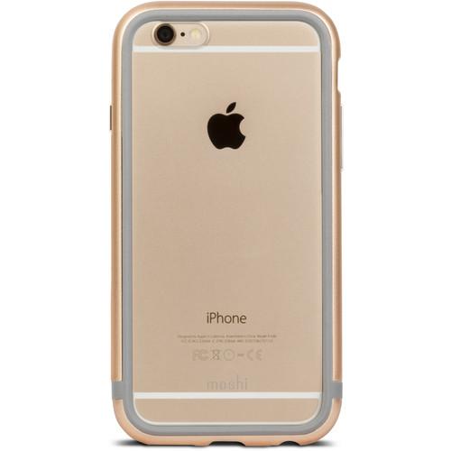 Pouzdro / kryt pro Apple iPhone 6 / 6S - Moshi, iGlaze Luxe Satin Gold