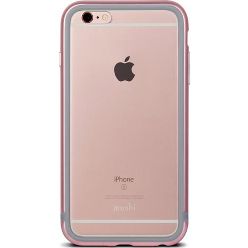 Pouzdro / kryt pro Apple iPhone 6 / 6S - Moshi, iGlaze Luxe Rose Pink