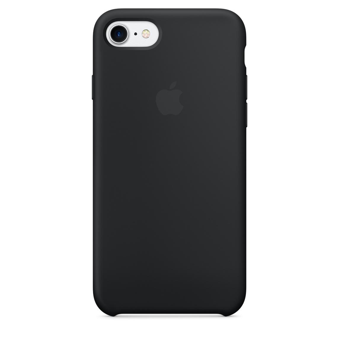 Pouzdro / kryt pro Apple iPhone 7 - Apple, Silicone Case Black mmw82zm/a