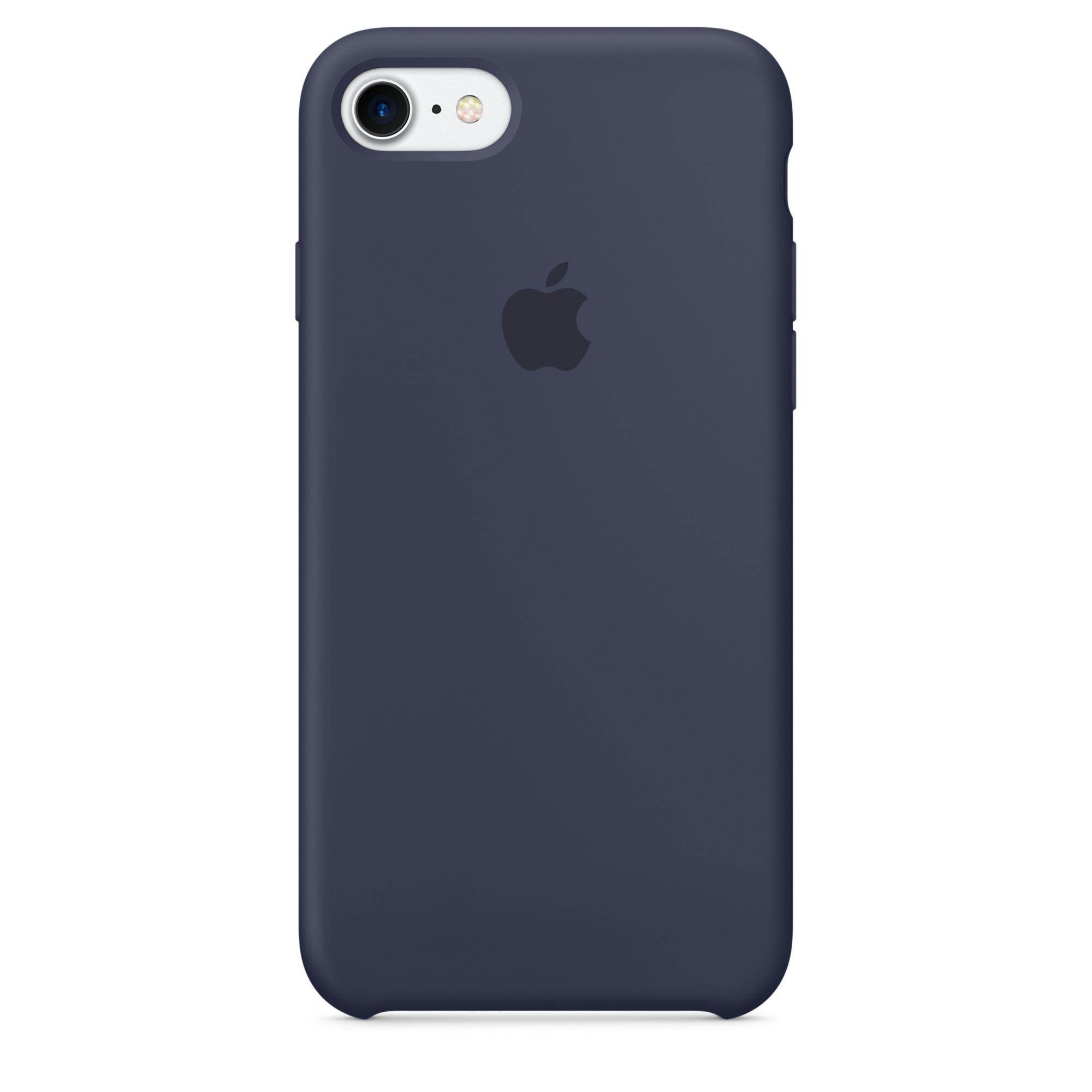 Ochranný kryt pro iPhone 7 - Apple, Silicone Case Midnight Blue