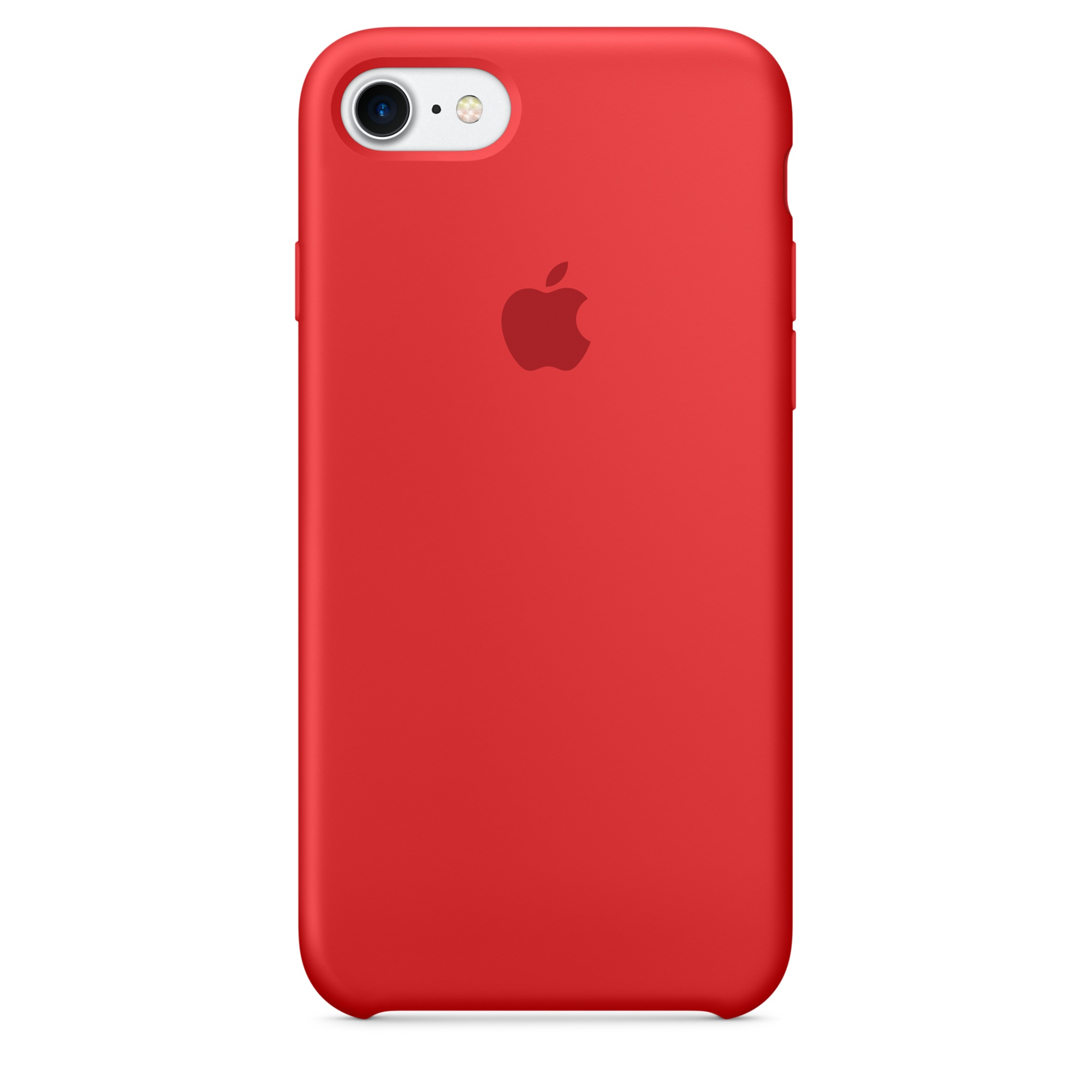 Pouzdro / kryt pro Apple iPhone 7 - Apple, Silicone Case Red mmwn2zm/a