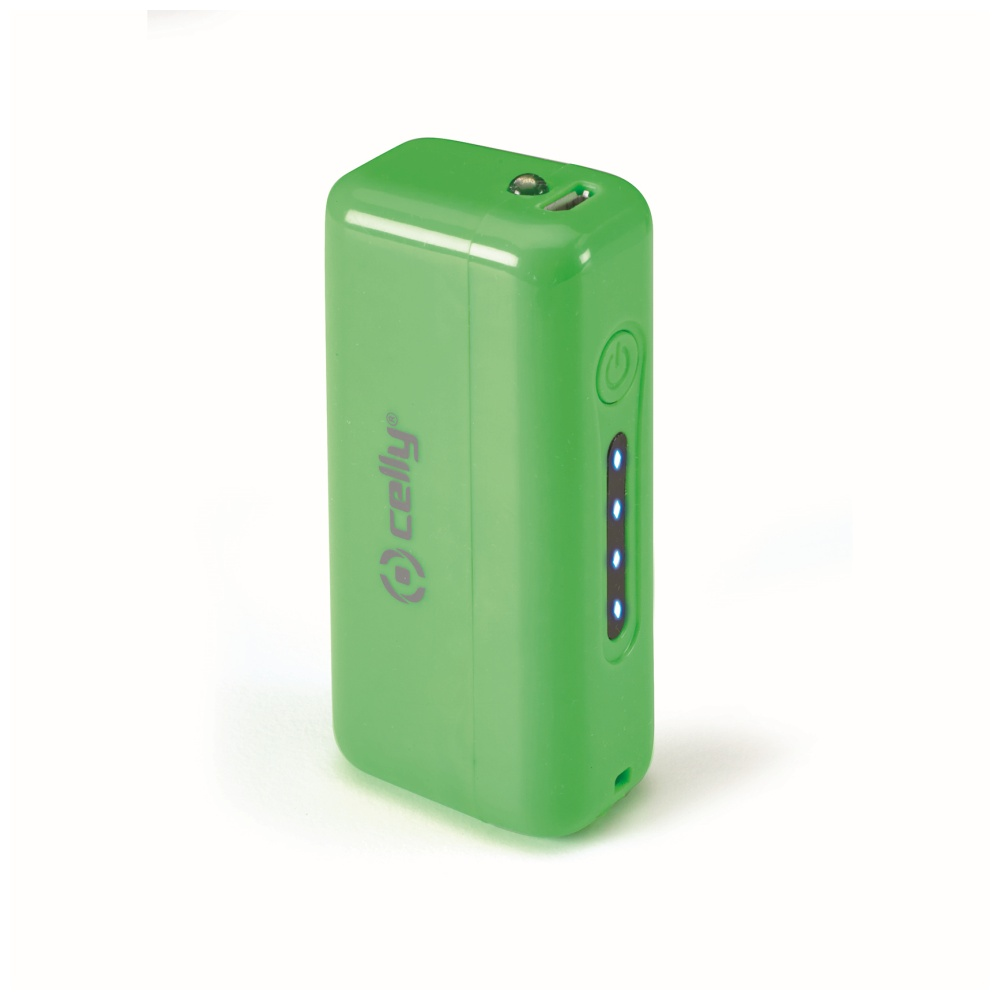Externí baterie / powerbanka pro iPhone - CELLY, Colore 2200mAh Green