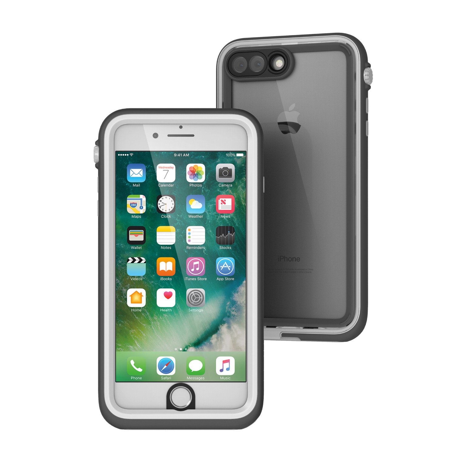 Voděodolné pouzdro / kryt pro Apple iPhone 7 PLUS - Catalyst, Waterproof Case White