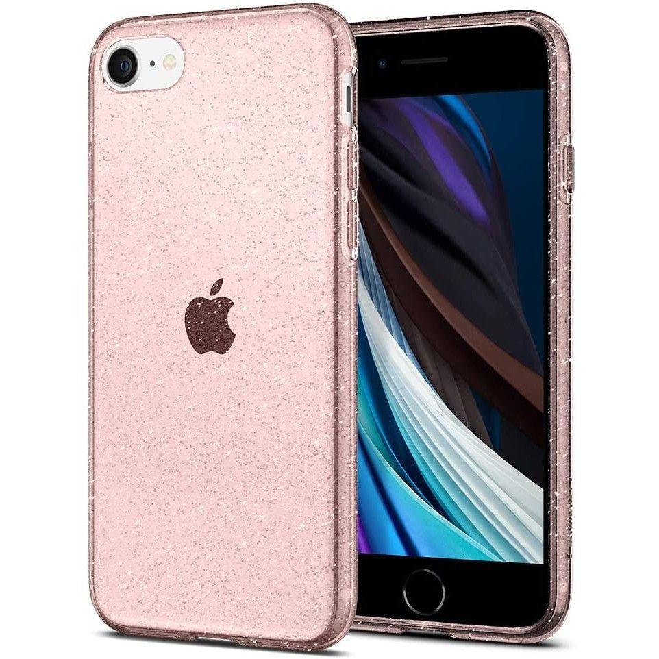Pouzdro / kryt pro Apple iPhone 7 / 8 - Spigen, Liquid Glitter Rose