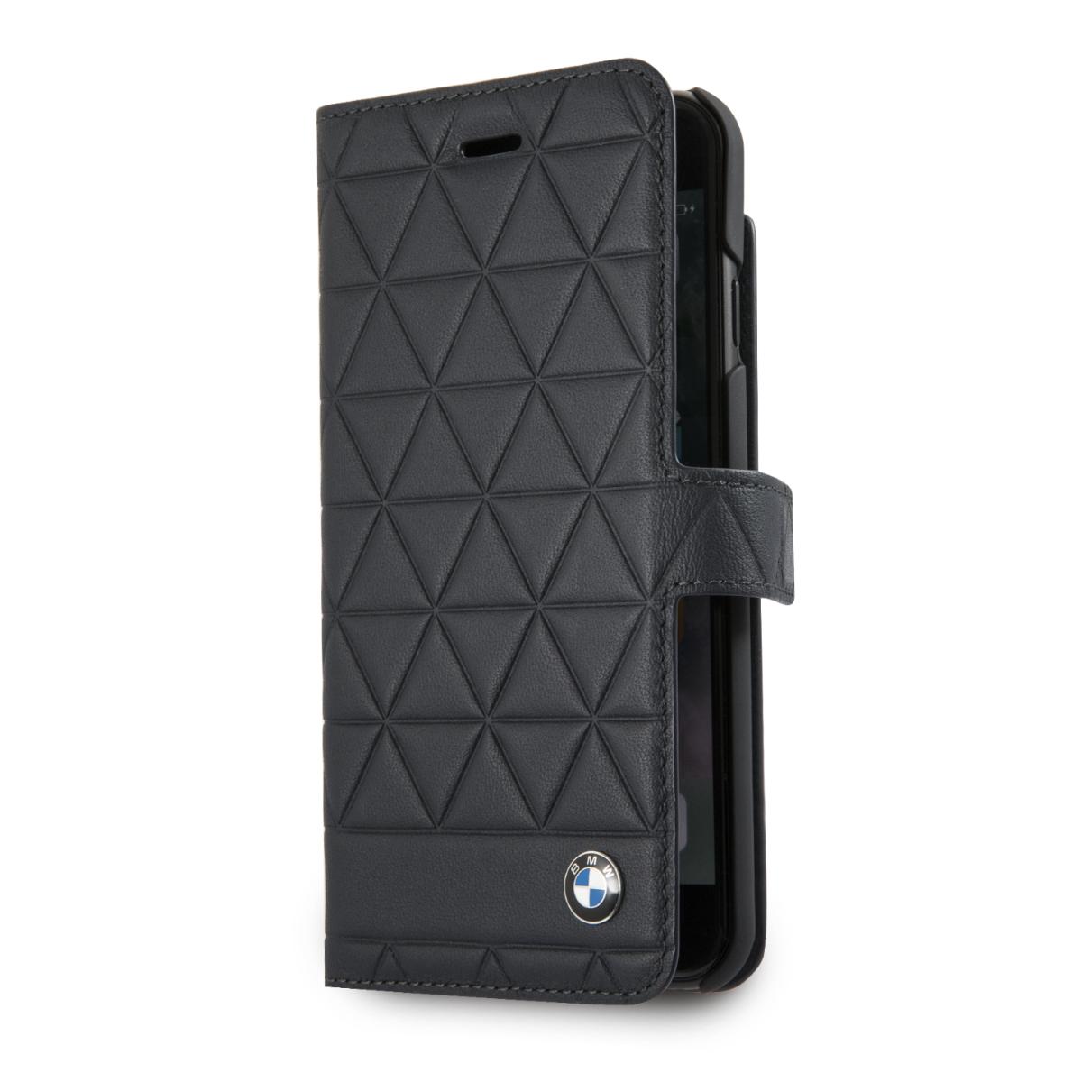 Pouzdro / kryt pro iPhone 7 / 8 - BMW, Hexagon Book Black