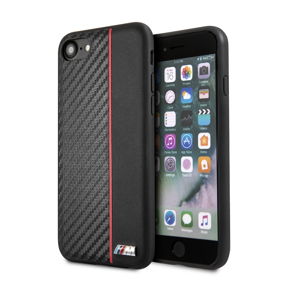 Pouzdro / kryt pro iPhone 8 / 7 / 6S / 6 - BMW, M-Collection Back Black