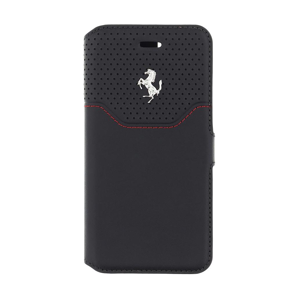 Pouzdro / kryt pro iPhone 7 - Ferrari, Lusso Book Black