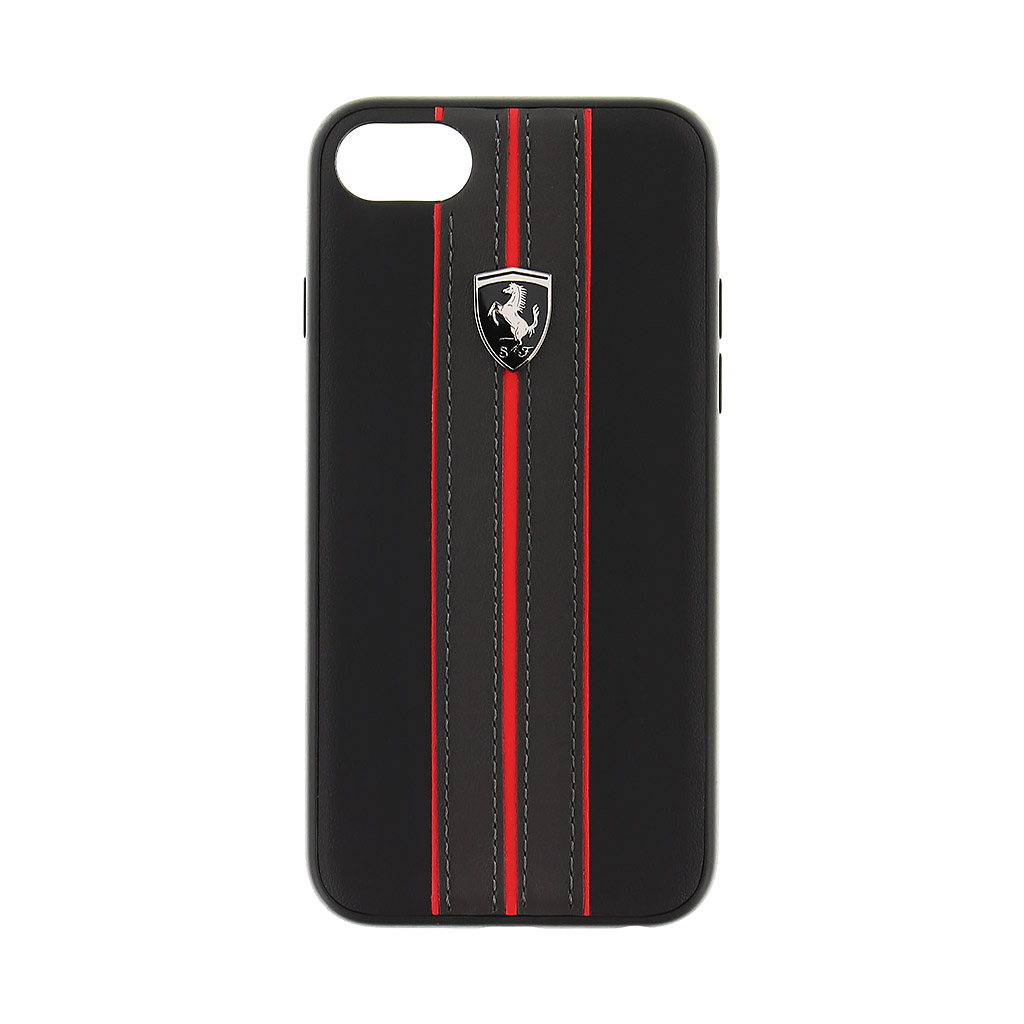 Pouzdro / kryt pro iPhone 7 - Ferrari, Urban Back Black