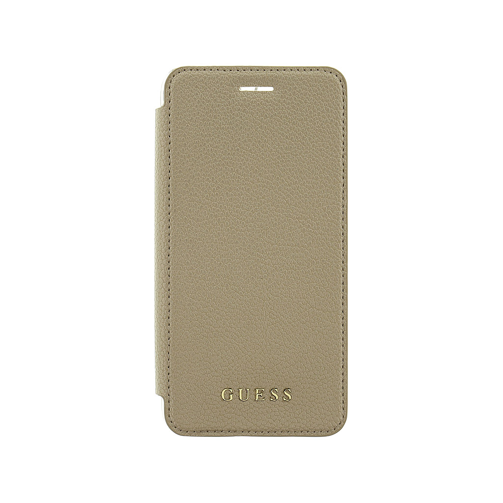 Pouzdro / kryt pro Apple iPhone 7 PLUS / 6S PLUS / 6 PLUS - Guess, IriDescent Book Gold