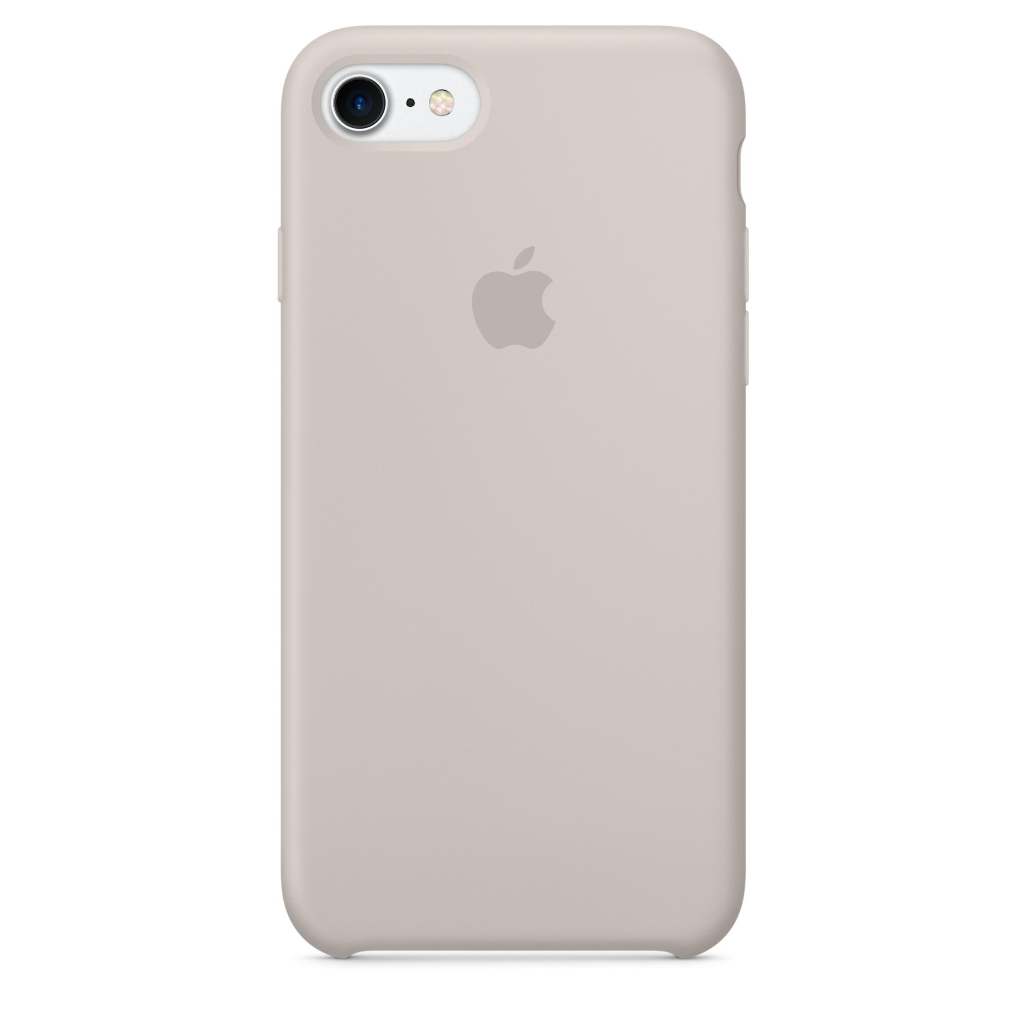 Ochranný kryt pro iPhone 7 - Apple, Silicone Case Stone