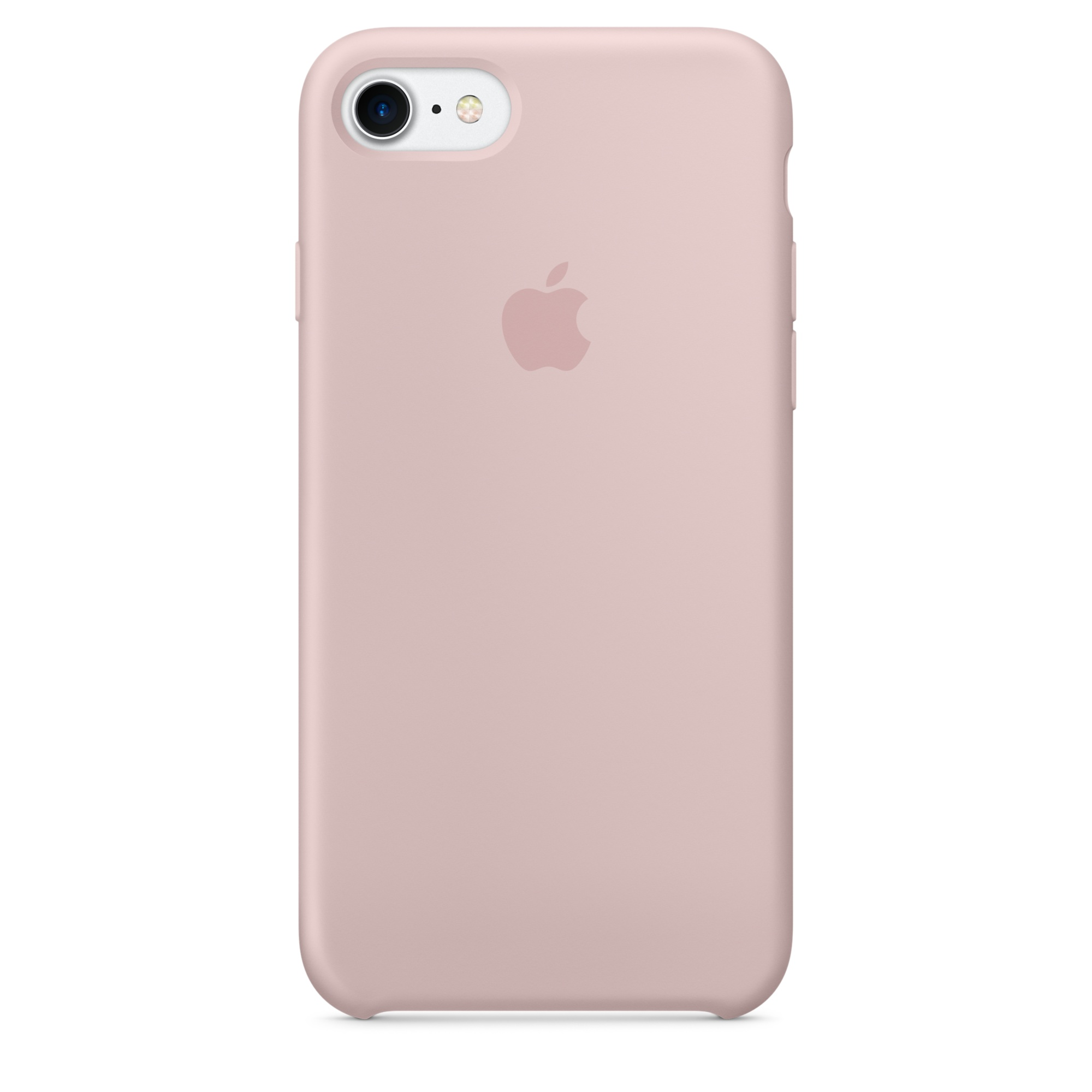 Pouzdro / kryt pro Apple iPhone 7 - Apple, Silicone Case Pink Sand mmx12zm/a