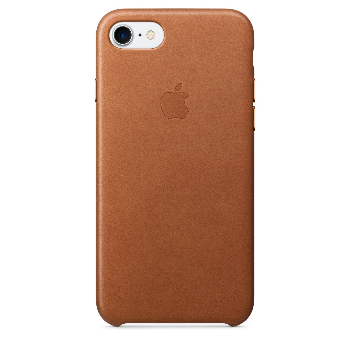 Pouzdro / kryt pro Apple iPhone 7 - Apple, Leather Case Saddle Brown mmy22zm/a
