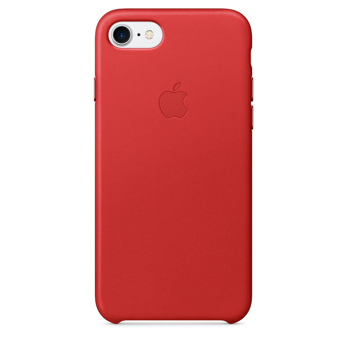 Pouzdro / kryt pro Apple iPhone 7 - Apple, Leather Case Red mmy62zm/a