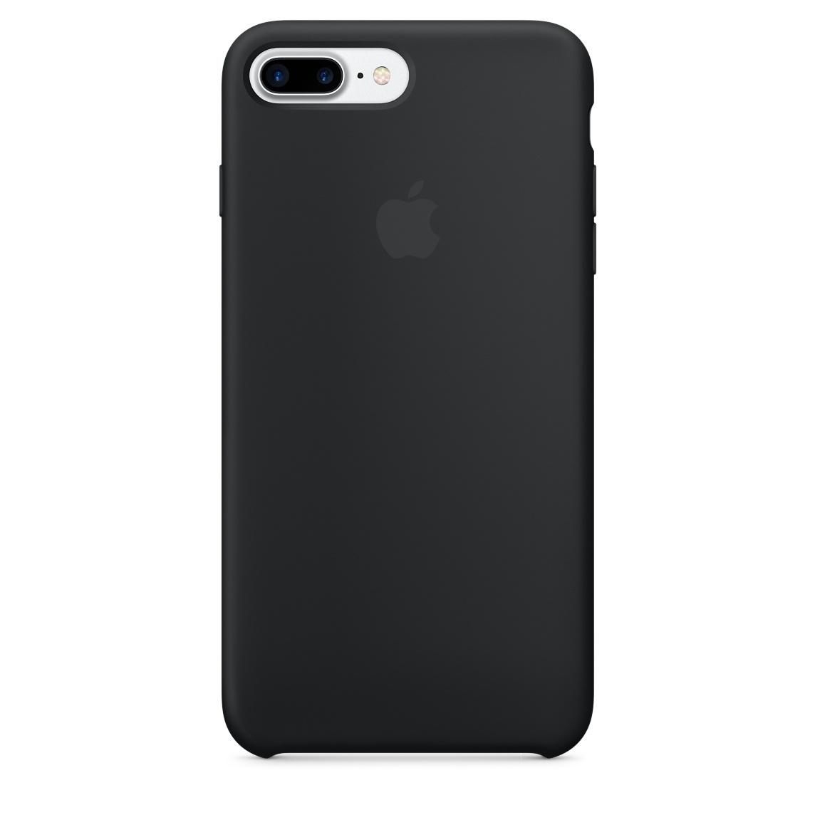 Pouzdro / kryt pro Apple iPhone 7 PLUS - Apple, Silicone Case Black