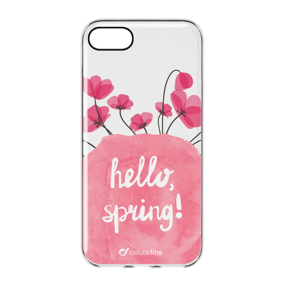 Pouzdro / kryt pro Apple iPhone 7 / 8 - Cellularline, STYLE BLOOM