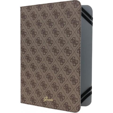 Pouzdro / kryt pro Apple iPad 2 / 3 / 4 - Guess, 4G Brown