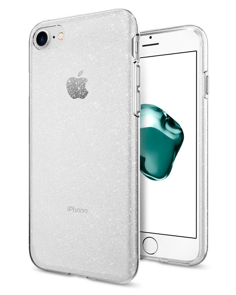 Pouzdro / kryt pro Apple iPhone 7 / 8 - Spigen, Liquid Glitter Crystal