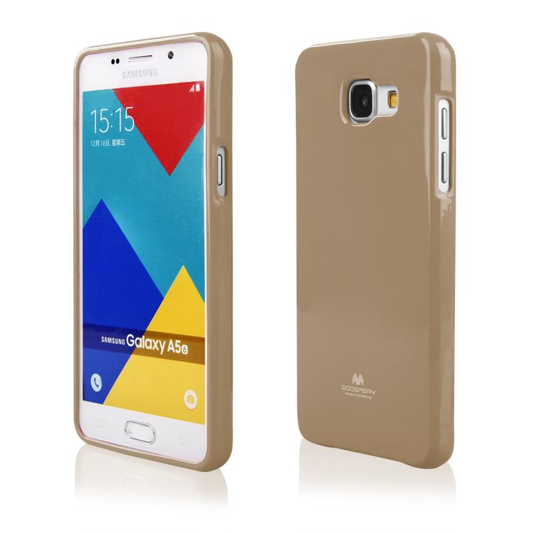 Pouzdro / kryt pro Samsung GALAXY A5 (2016) A510 - Mercury, Jelly Gold