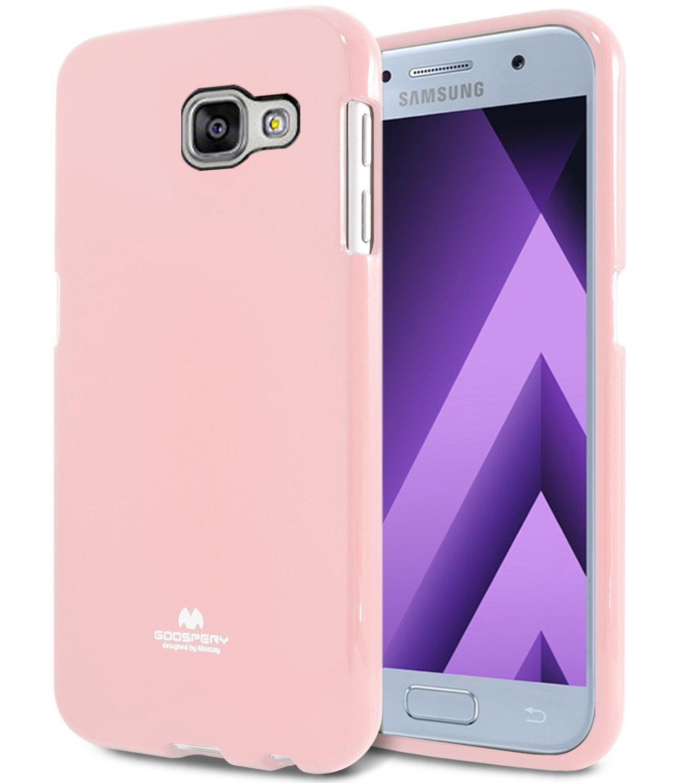 Pouzdro / kryt pro Samsung GALAXY A5 (2017) A520 - Mercury, Jelly Pink
