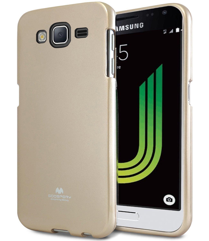 Pouzdro / kryt pro Samsung GALAXY J5 (2016) J510 - Mercury, Jelly Gold