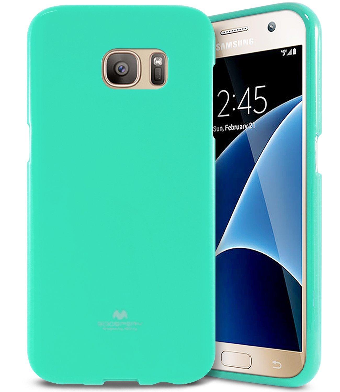 Pouzdro / kryt pro Samsung Galaxy S7 - Mercury, Jelly Mint