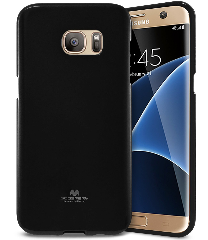 Pouzdro / kryt pro Samsung Galaxy S7 EDGE - Mercury, Jelly Black