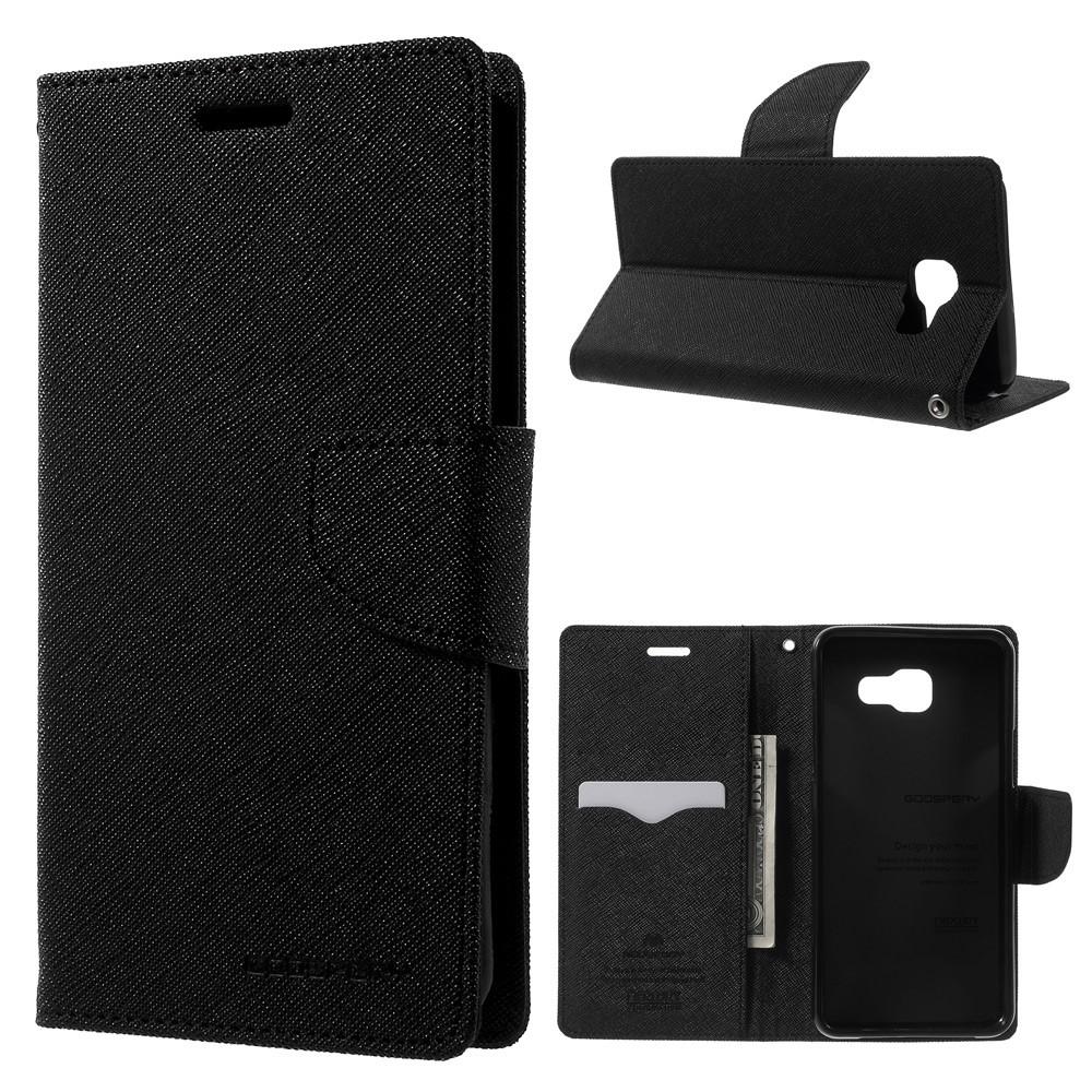 Pouzdro / kryt pro Samsung GALAXY A5 (2016) A510 - Mercury, Fancy Diary Black/Black