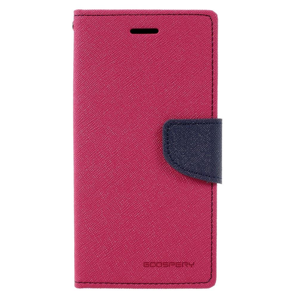 Pouzdro / kryt pro Samsung GALAXY A5 (2017) A520 - Mercury, Fancy Diary Hotpink/Navy