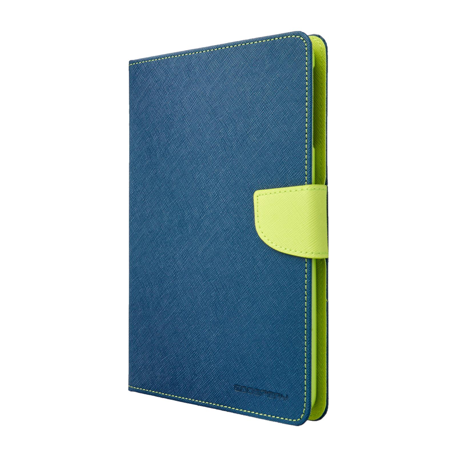 Pouzdro / kryt pro Apple iPad mini 1 / 2 / 3 - Mercury, Fancy Diary Navy/Lime