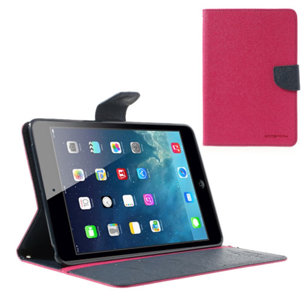 Pouzdro / kryt pro Apple iPad mini 1 / 2 / 3 - Mercury, Fancy Diary Hotpink/Navy