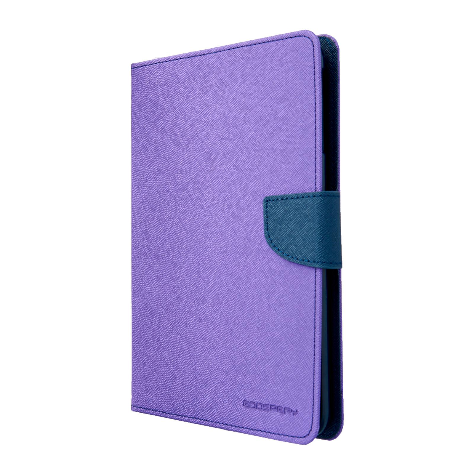 Pouzdro / kryt pro Apple iPad mini 1 / 2 / 3 - Mercury, Fancy Diary Purple/Navy