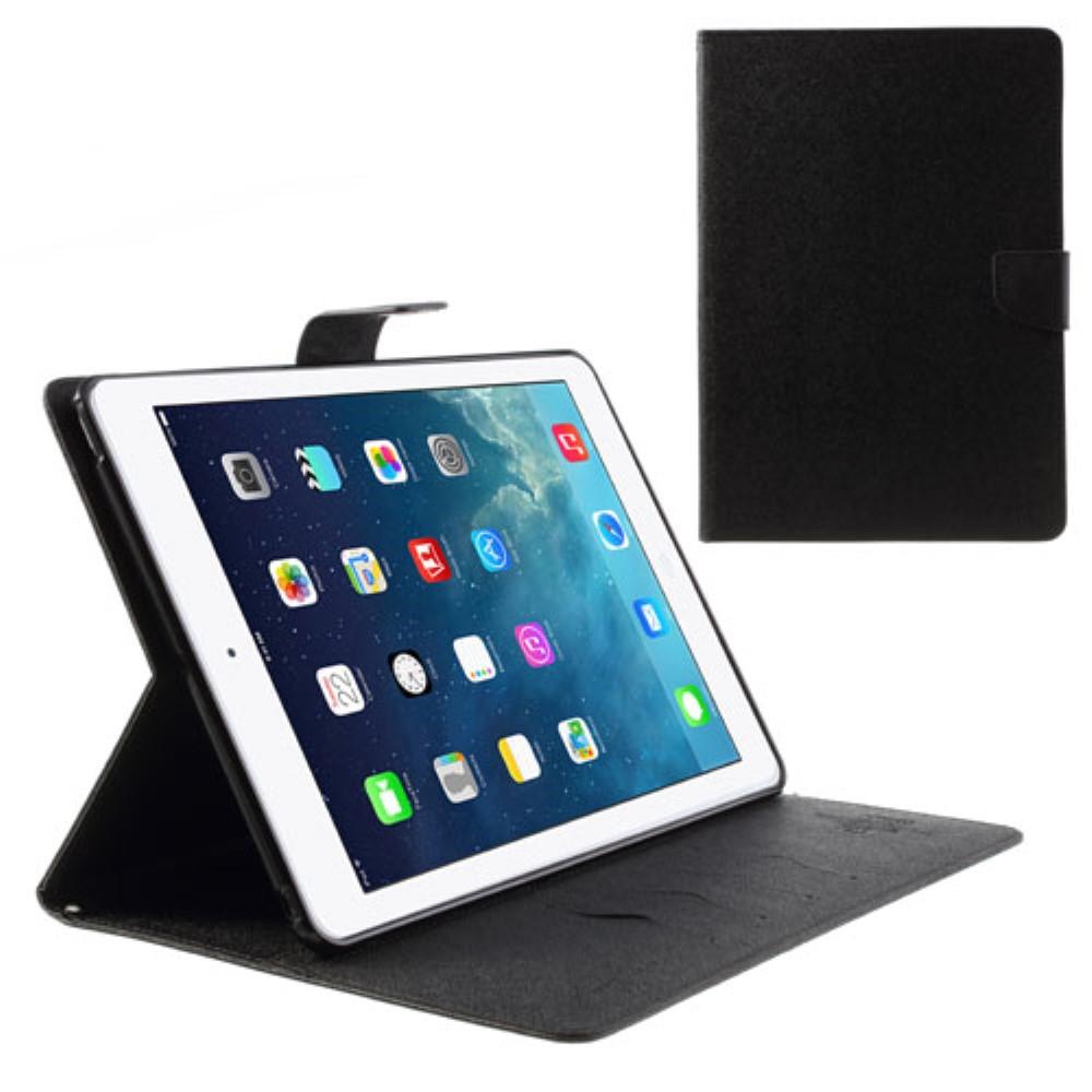 Pouzdro / kryt pro Apple iPad Air 1 - Mercury, Fancy Diary Black/Black
