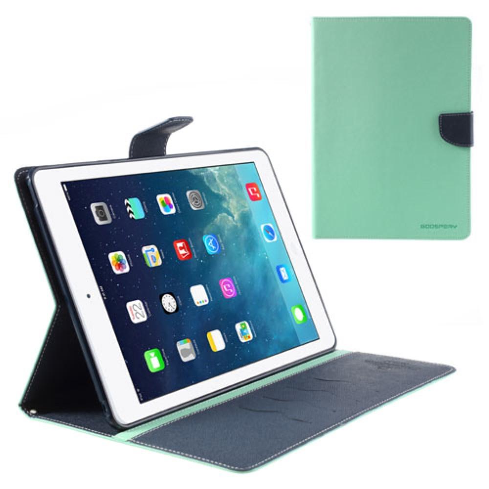 Pouzdro / kryt pro Apple iPad Air 1 - Mercury, Fancy Diary Mint/Navy