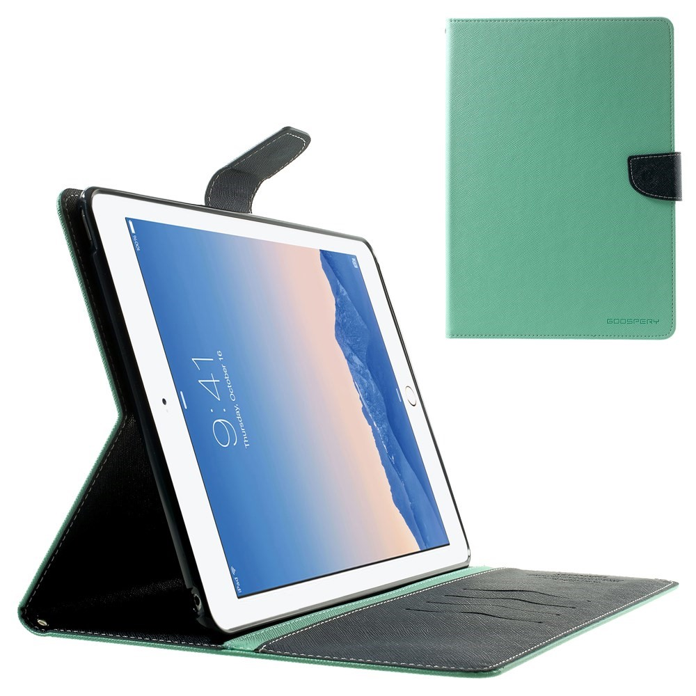 Pouzdro / kryt pro Apple iPad Air 2 - Mercury, Fancy Diary Mint/Navy