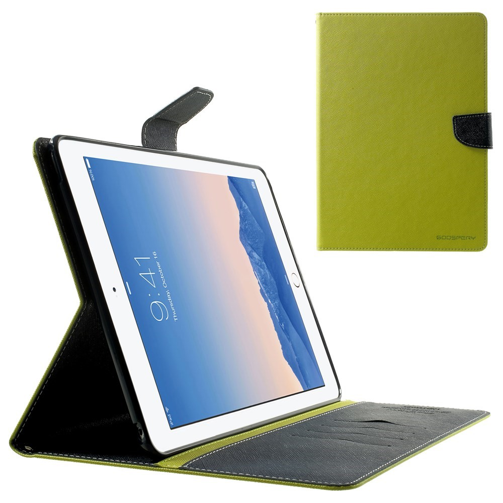 Pouzdro / kryt pro Apple iPad Air 2 - Mercury, Fancy Diary Lime/Navy