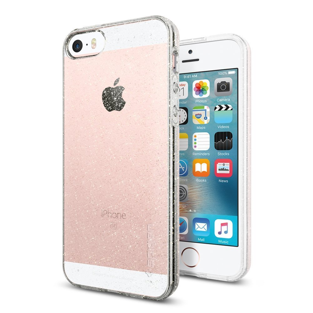 Pouzdro / kryt pro Apple iPhone 5 / 5S / SE - Spigen, Liquid Air Glitter Crystal