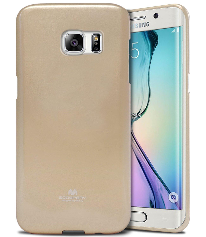 Pouzdro / kryt pro Samsung Galaxy S6 EDGE - Mercury, Jelly Gold