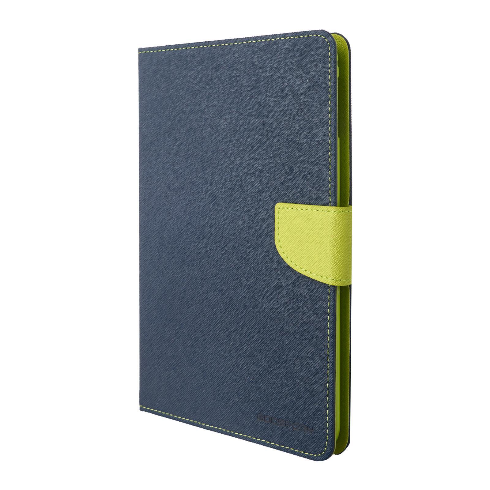Pouzdro / kryt pro Apple iPad mini 4 - Mercury, Fancy Diary Navy/Lime