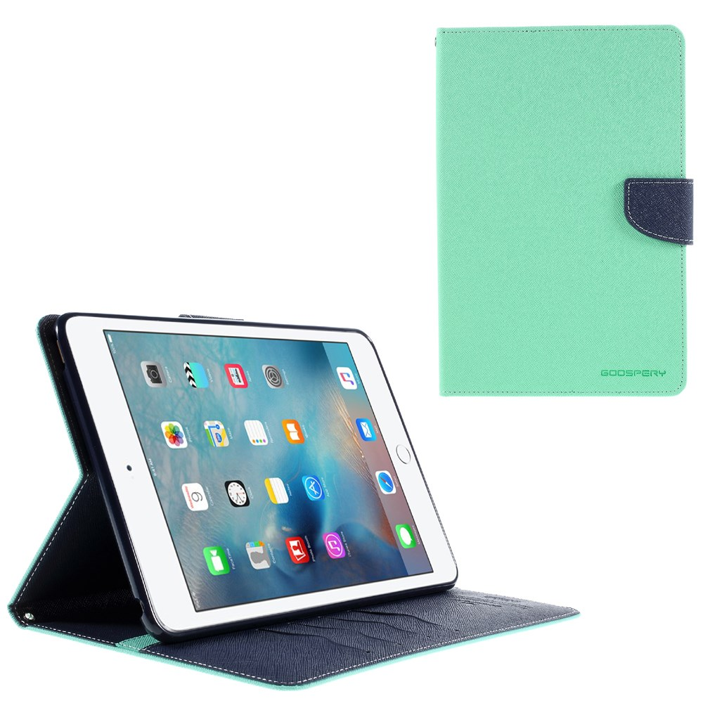Pouzdro / kryt pro Apple iPad mini 4 - Mercury, Fancy Diary Mint/Navy